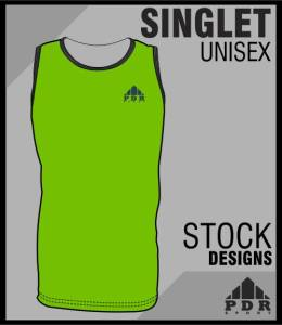 Footy thumbs SINGLET