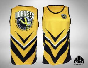 bundaberg-athletics-yellow-unisex-singlet