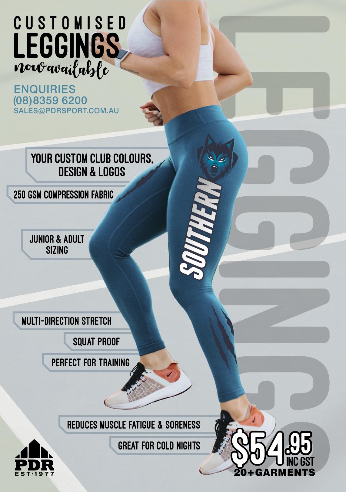 Sports Leggings Custom Compression Pants